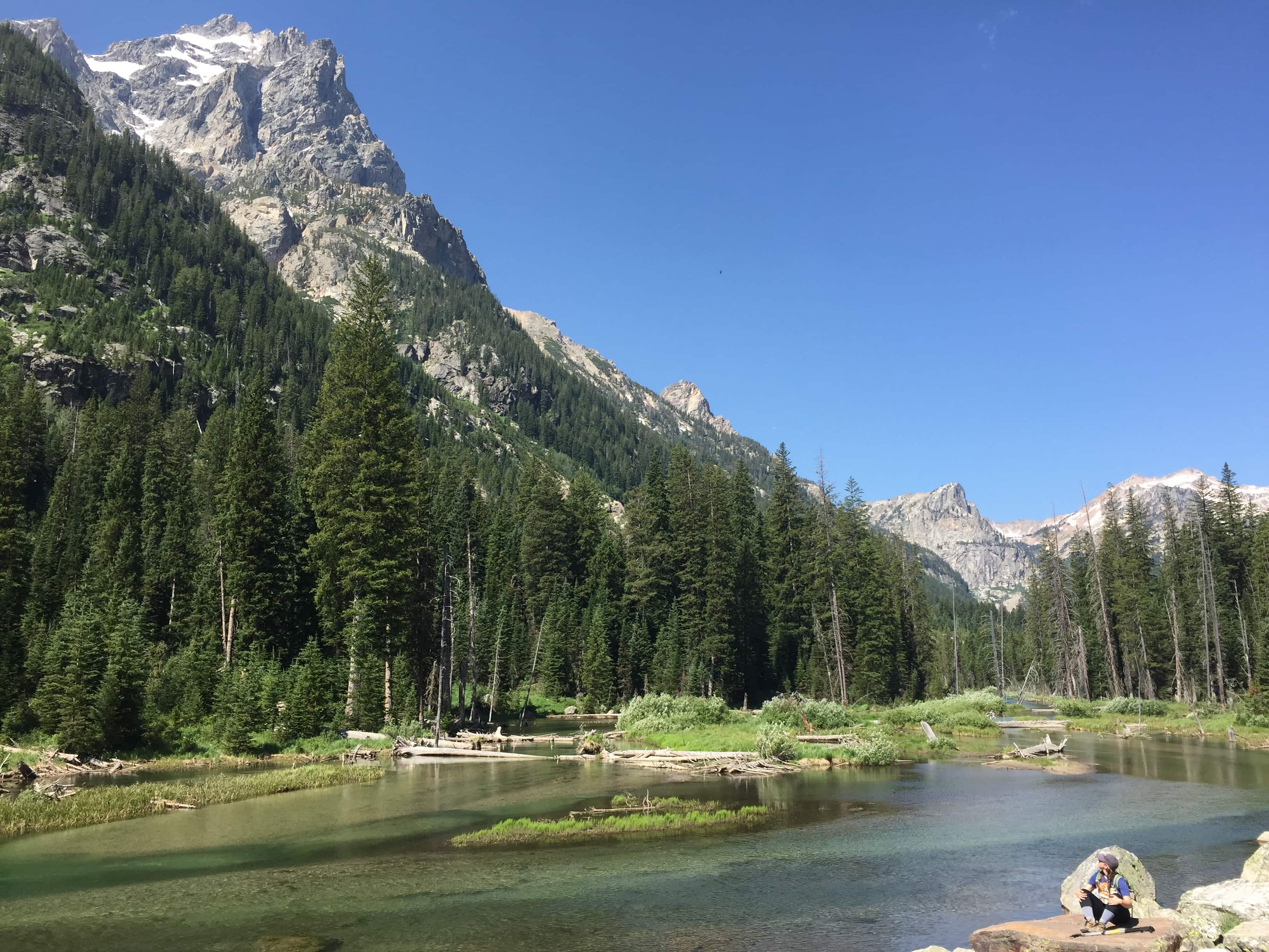 Cascade Canyon // The ultimate road trip itinerary through Grand Teton and Yellowstone National Parks