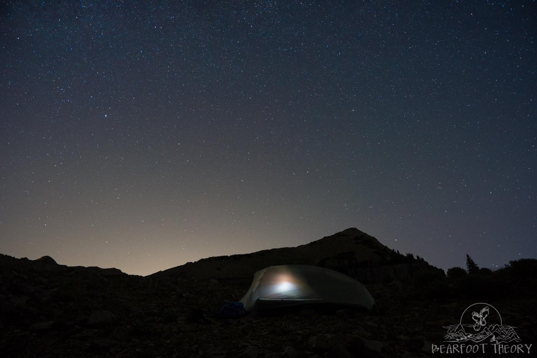Stargazing at Mount Timpanogos