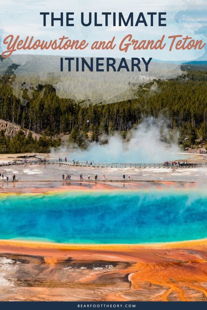 Follow this detailed 7-day Teton and Yellowstone road trip itinerary to travel to the best sites, hikes, and attractions in these two incredible national parks.