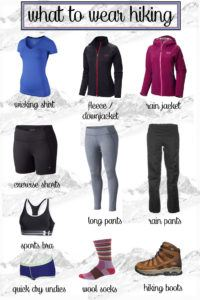 What to Wear Hiking Guide