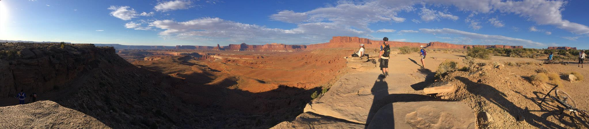 Murphy's Hogback on the White RIm Trail in Canyonlands National Park