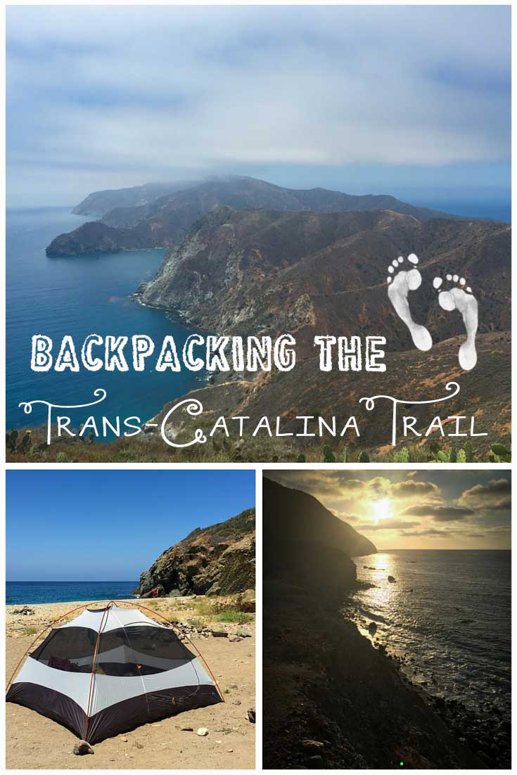 Tips For Backpacking The Trans Catalina Trail Bearfoot