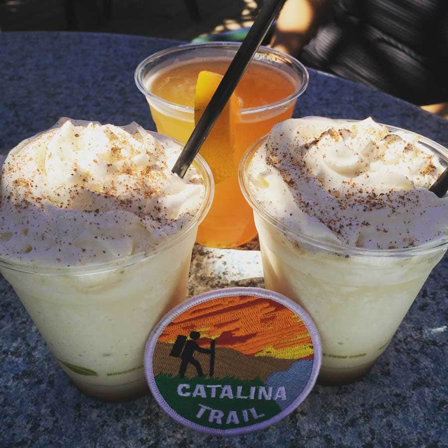 Buffalo's Milk - a delicious cocktail at the Harbor Reef Restaurant on Catalina Island