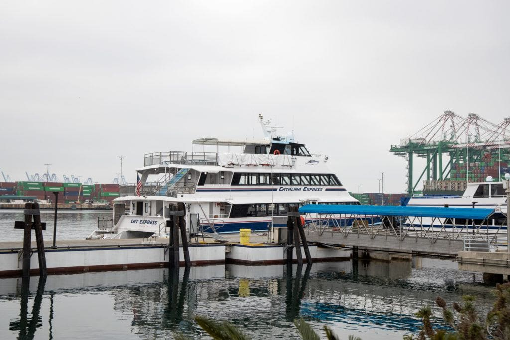 Catalina Express Boat / Plan a backpacking trip on the Catalina Island Trans-Catalina Trail with this guide including the best campsites, gear, water, and more.