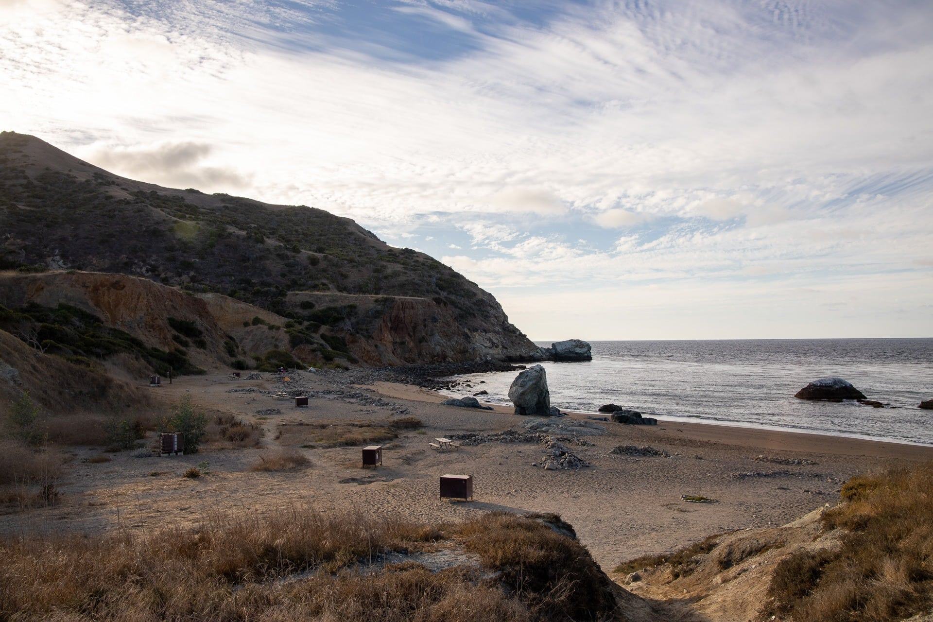 Parson's Landing / Plan a backpacking trip on the Trans-Catalina Trail on Catalina Island with this trail guide with tips on the best campsites, water availability, gear & more