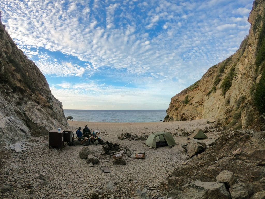 Parsons Landing Campground / Plan a backpacking trip on the Trans-Catalina Trail on Catalina Island with this trail guide with tips on the best campsites, water availability, gear & more