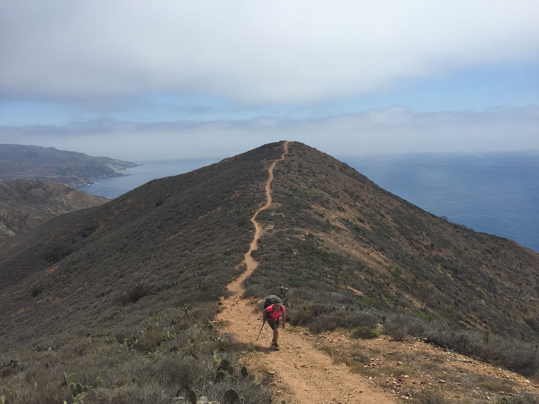 Trans Catalina Trail // Hit the slopes or cruise the coast with our list of 12 winter destinations for outdoor adventure, perfect for the sun-seeker and snow-lover alike.