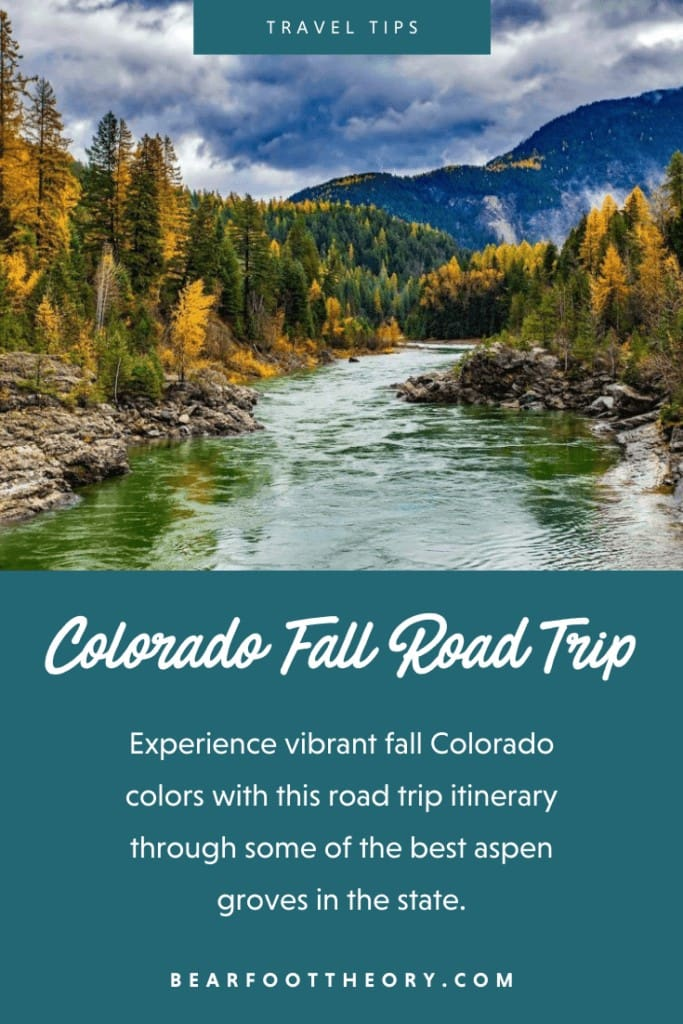 Experience vibrant Colorado fall colors with this road trip itinerary that takes you through some of the best aspen groves in the state.