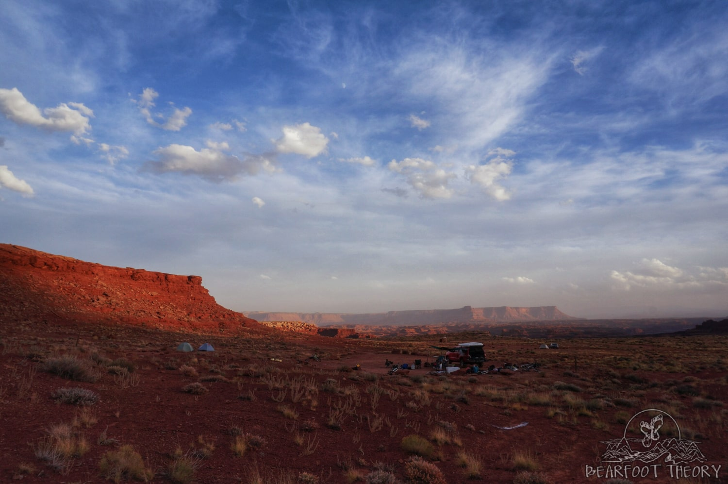 Airport campsite on the White Rim Trail in Canyonlands National Park