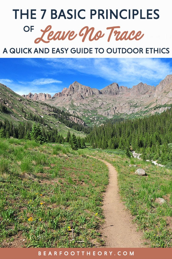 Brush up on your outdoor ethics and learn best practices for your adventures with the basic guidelines of Leave No Trace principles.