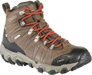 Oboz Bridger Premium Hiking Boots // An essential item that makes our 3-day backpacking checklist