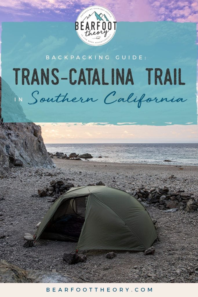 Plan a backpacking trip on the Catalina Island Trans-Catalina Trail with this guide including the best campsites, gear, water, and more.