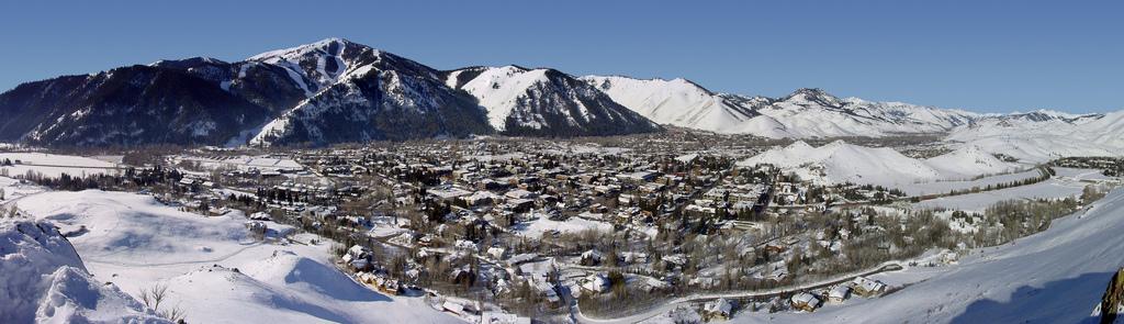 Sun Valley Idaho in the winter