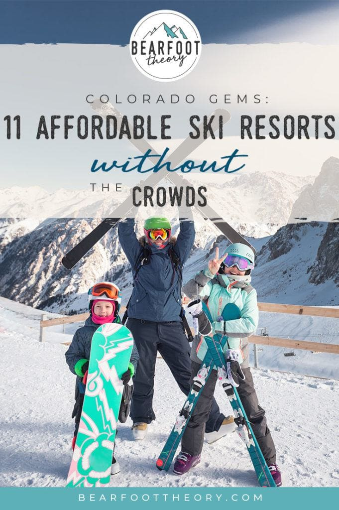 Looking for an affordable ski trip? Check out the Colorado Gems