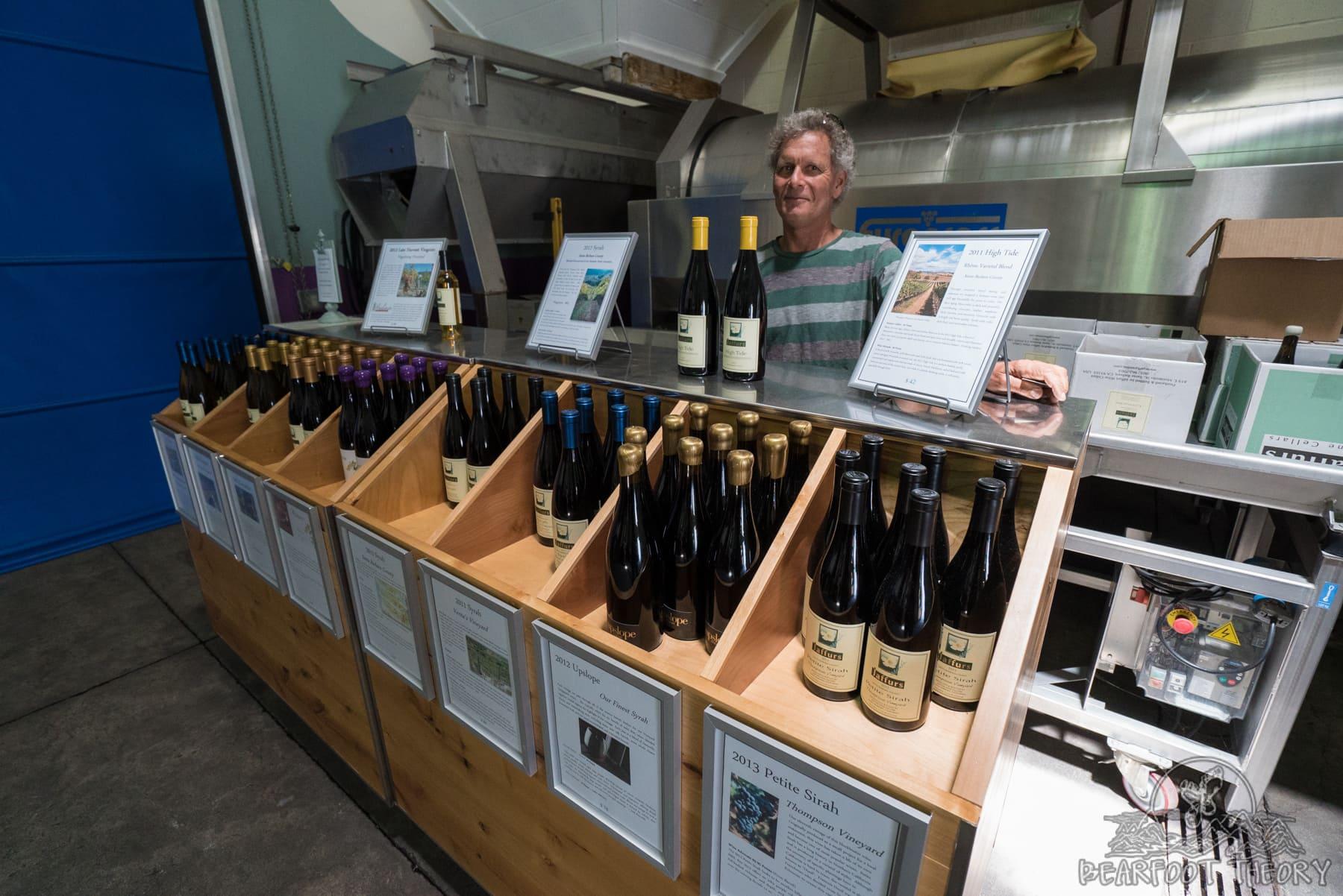 Craig Jaffurs - Owner of Jaffurs Winery - One of my favorite stops on Santa Barbara's wine trail