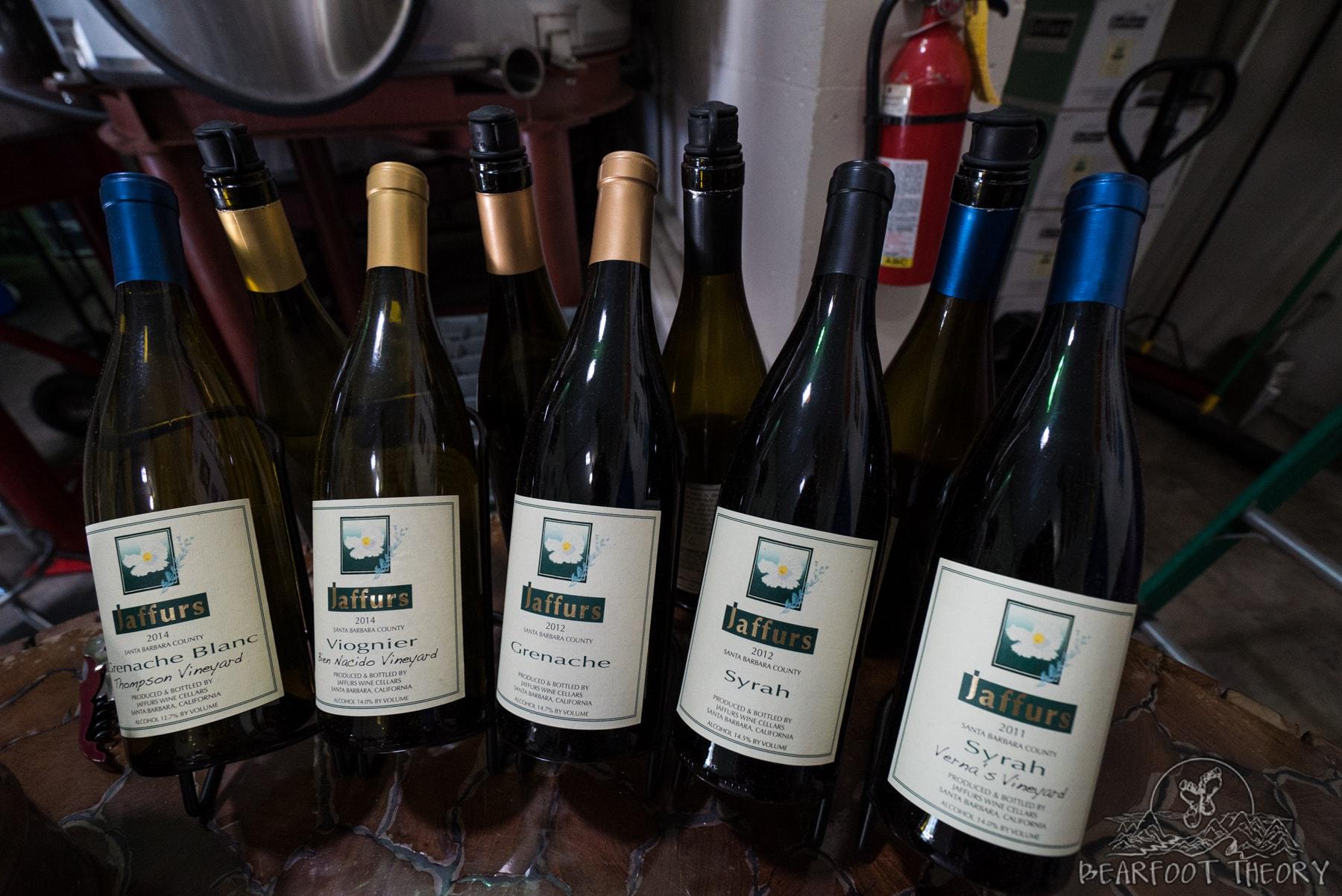 Jaffurs Winery - One of my favorite stops on Santa Barbara's wine trail