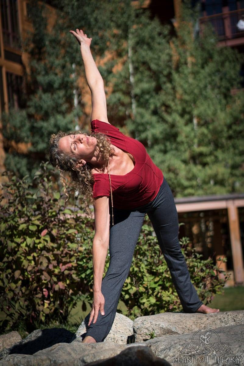 Yoga Photo Shoot - Summit Series Adventure Photography Workshop in Jackson, Wyoming