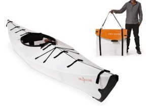 Outdoor Adventure Gifts for the Paddler: Oru kayak's fold down and can fit in even the smallest of trunks. You can even throw it in a backpack and hike with it.