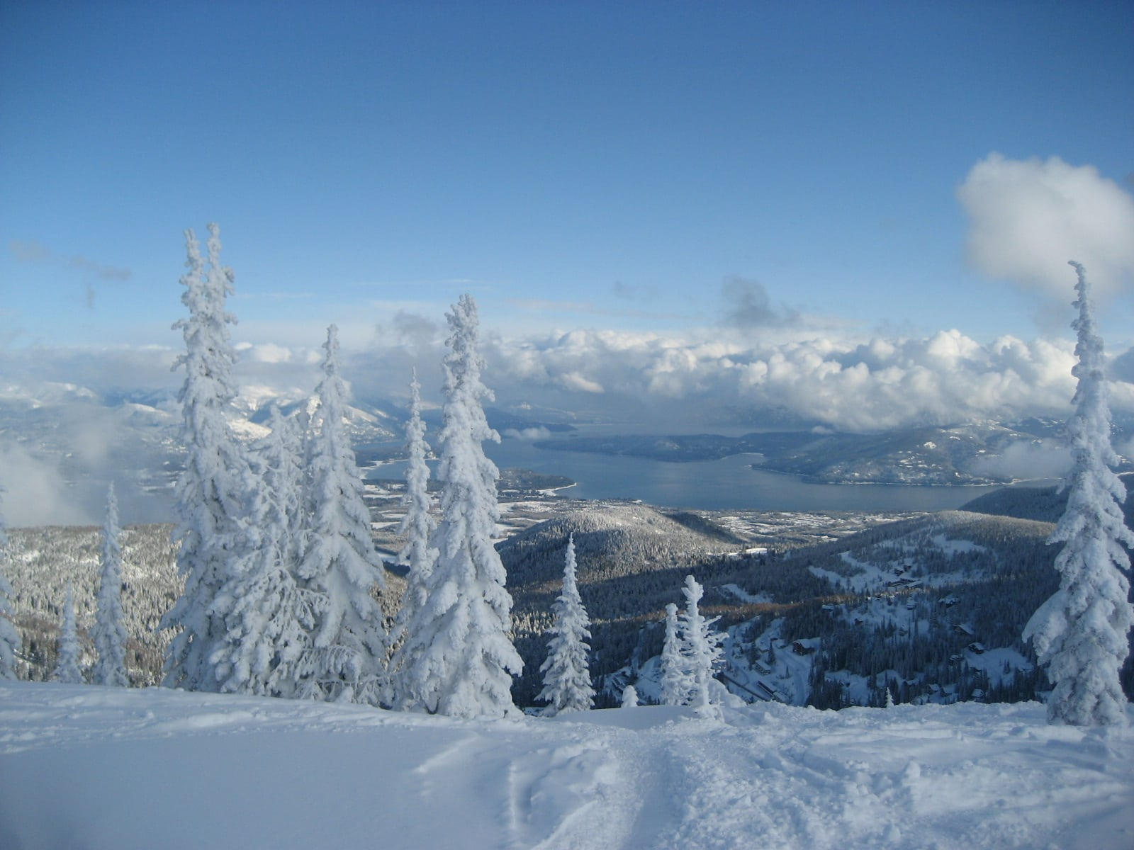 "Schweitzer Ski Resort - Voted by Ski Magazine as ""The Best Kept Secret in North America,"""