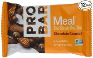 Outdoor Adventure Gifts for the Hiker: Probar's Chocolate Coconut Meal Bar is my favorite trail snack at the moment
