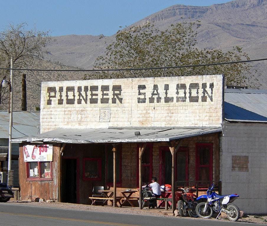 Pioneer Saloon, GoodSprings, Nevada / These Nevada ghost towns are the coolest in the state. Learn where to go & what to do with these Nevada Ghost Town travel tips.