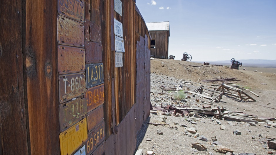 Berlin - one of Nevada's Best Ghost Towns