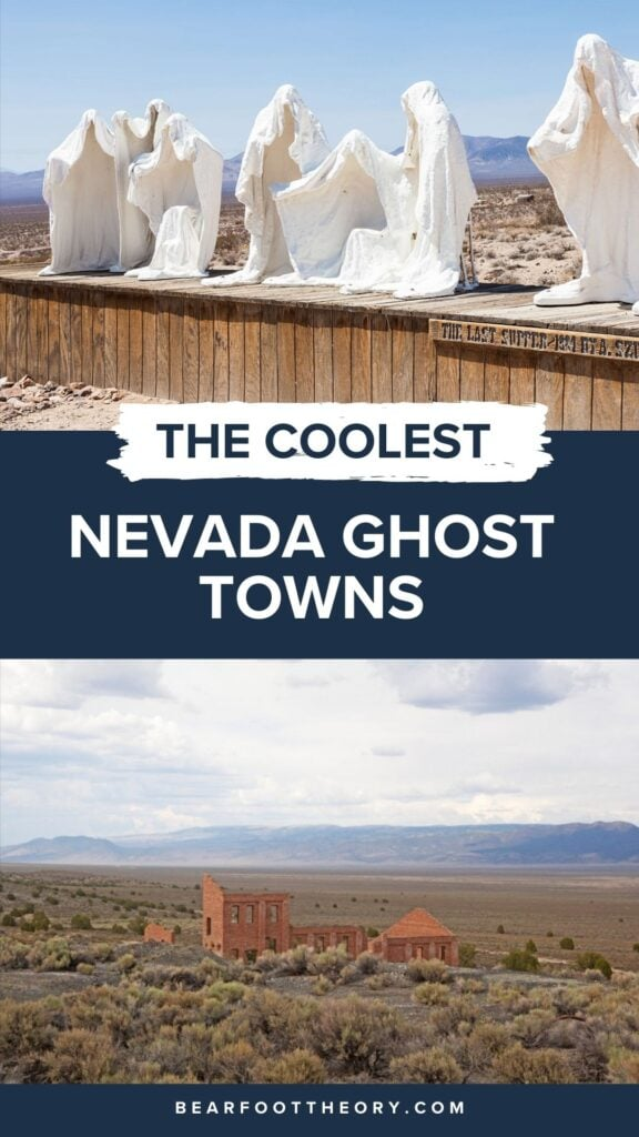 These 6 Nevada ghost towns are the coolest in the state. Learn where to go & what to do with these Nevada Ghost Town travel tips.