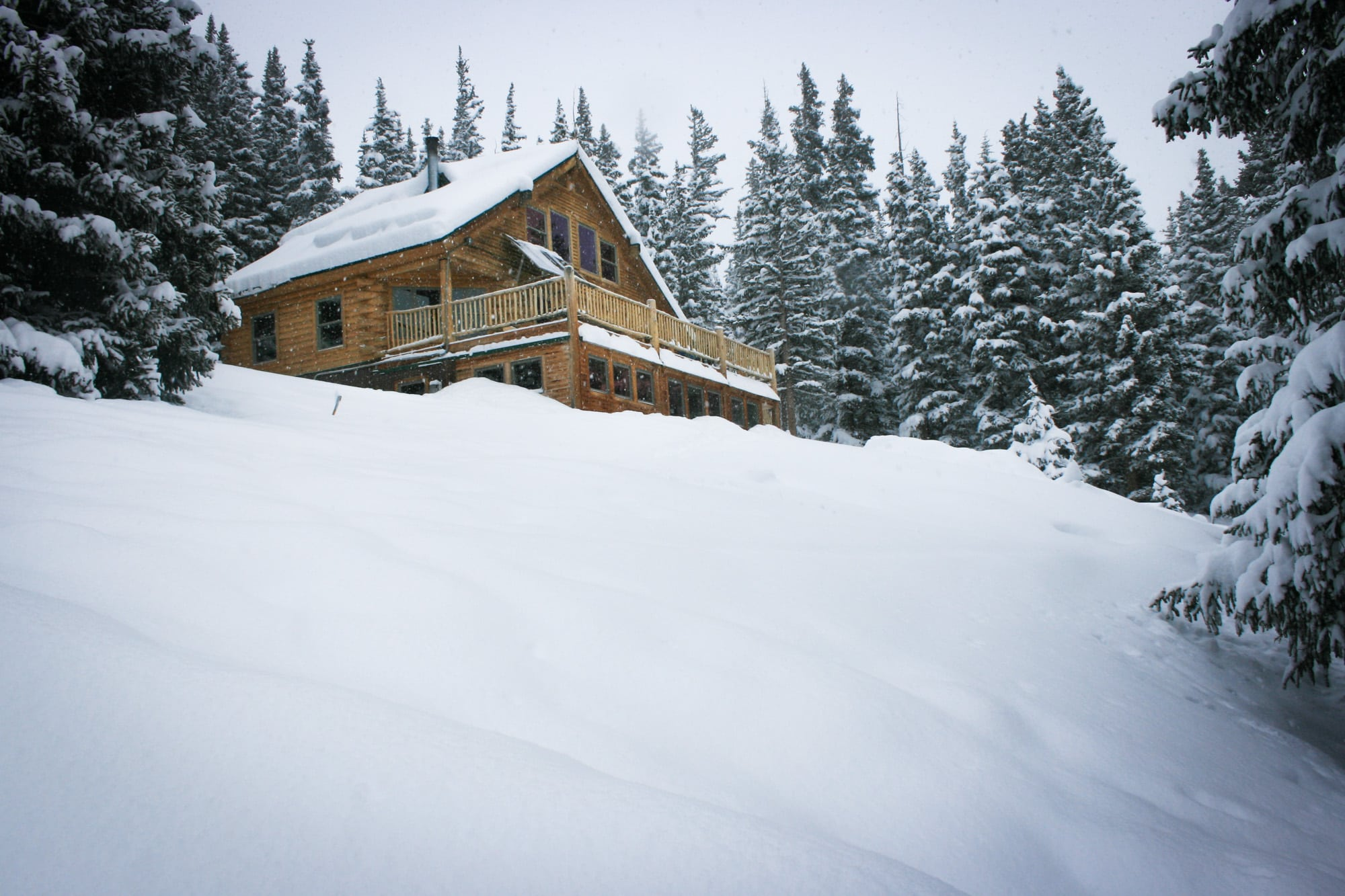 Reasons to take a backcountry hut trip - #10: Fresh powder out your doorstep