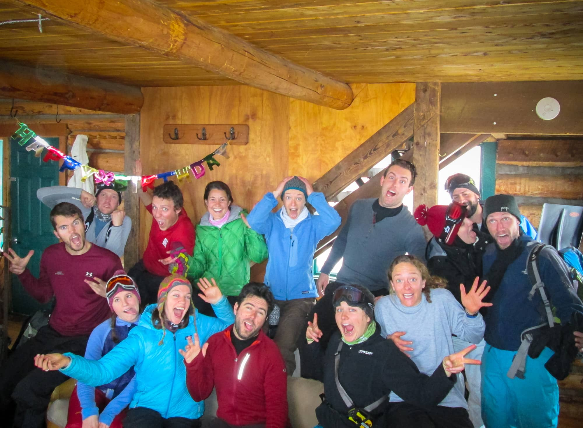 Reasons to take a backcountry hut trip - #15 - Spending quality time with friends
