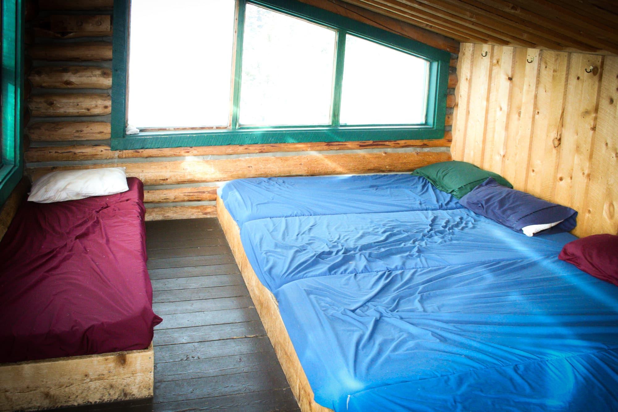 Reasons to take a backcountry hut trip - #4: No tent, no pad, no problem