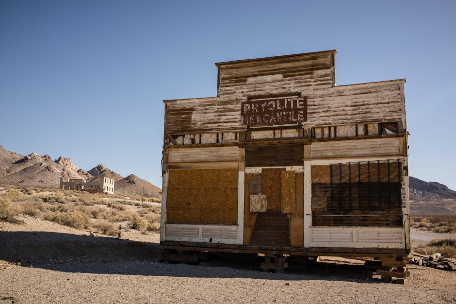 Rhylolite - one of Nevada's Best Ghost Towns