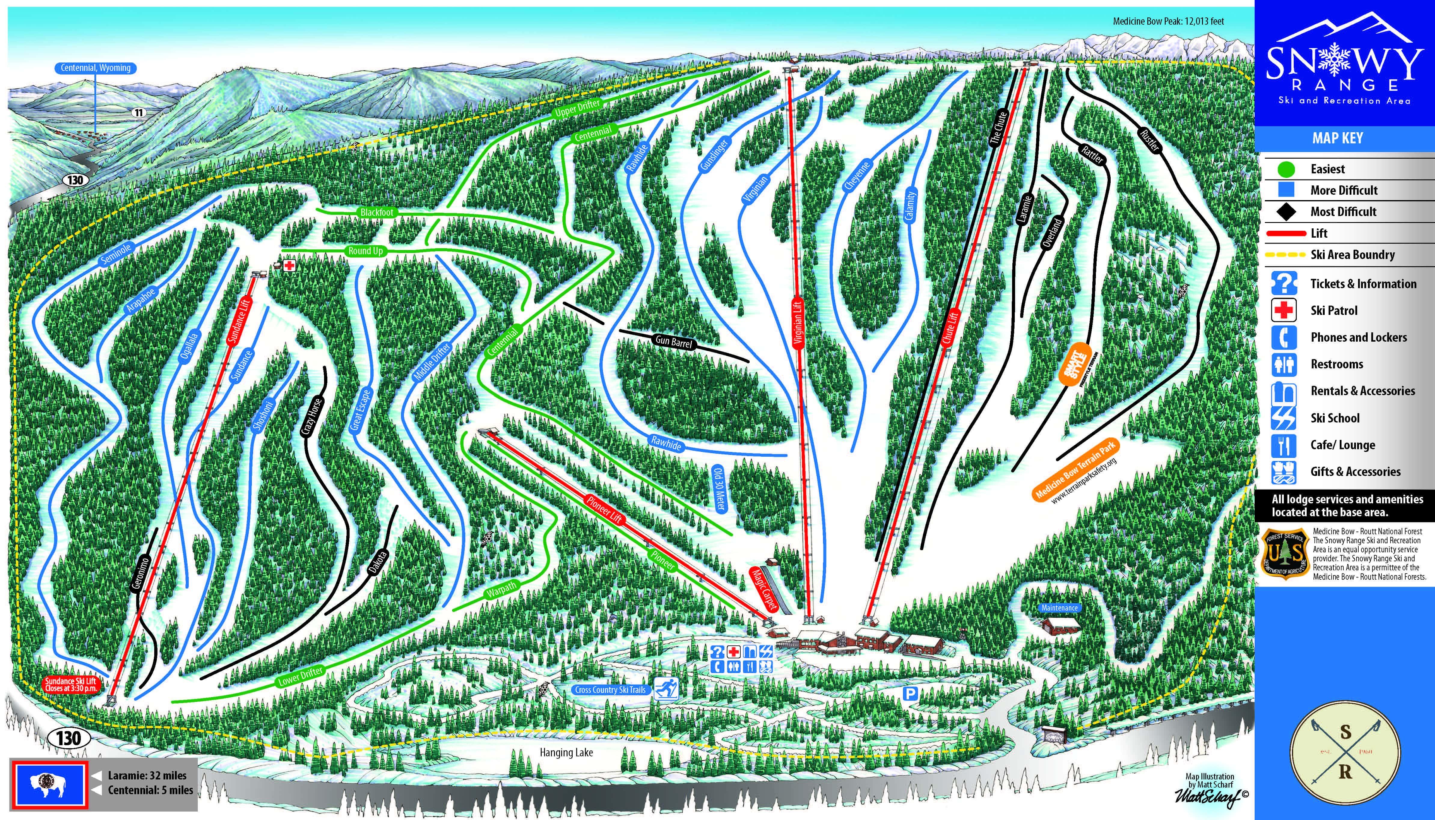 Snowy Range Ski Resort - Laramie, Wyoming