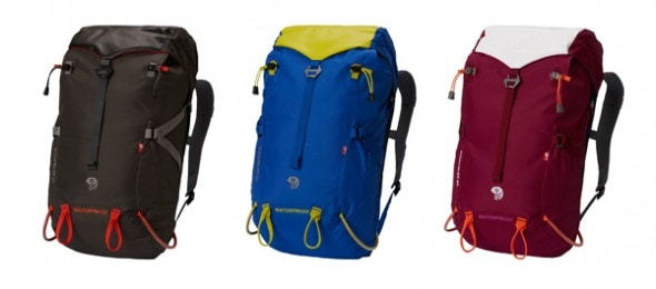 Outdoor Adventure Gifts for the Hiker: The 100% waterproof Mountain Hardwear Scrambler 30 pack