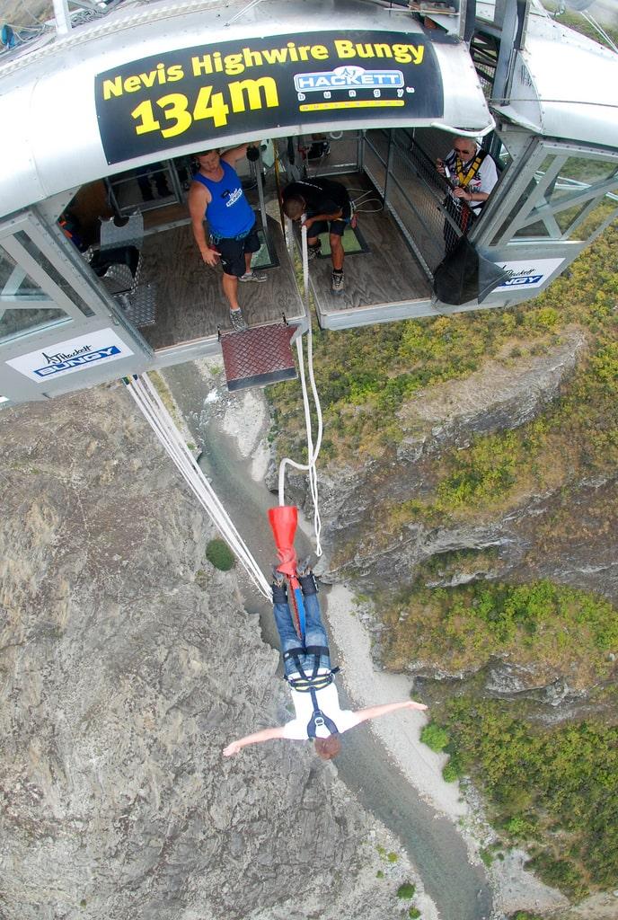 New Zealand Bucketlist: Jump off the country's highest bungee jump