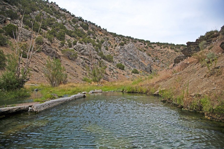 Twelve-Mile Hot Springs // Check the map, grab your (birthday) suit, and head to one of these best hot springs in Nevada for the ultimate natural soak.