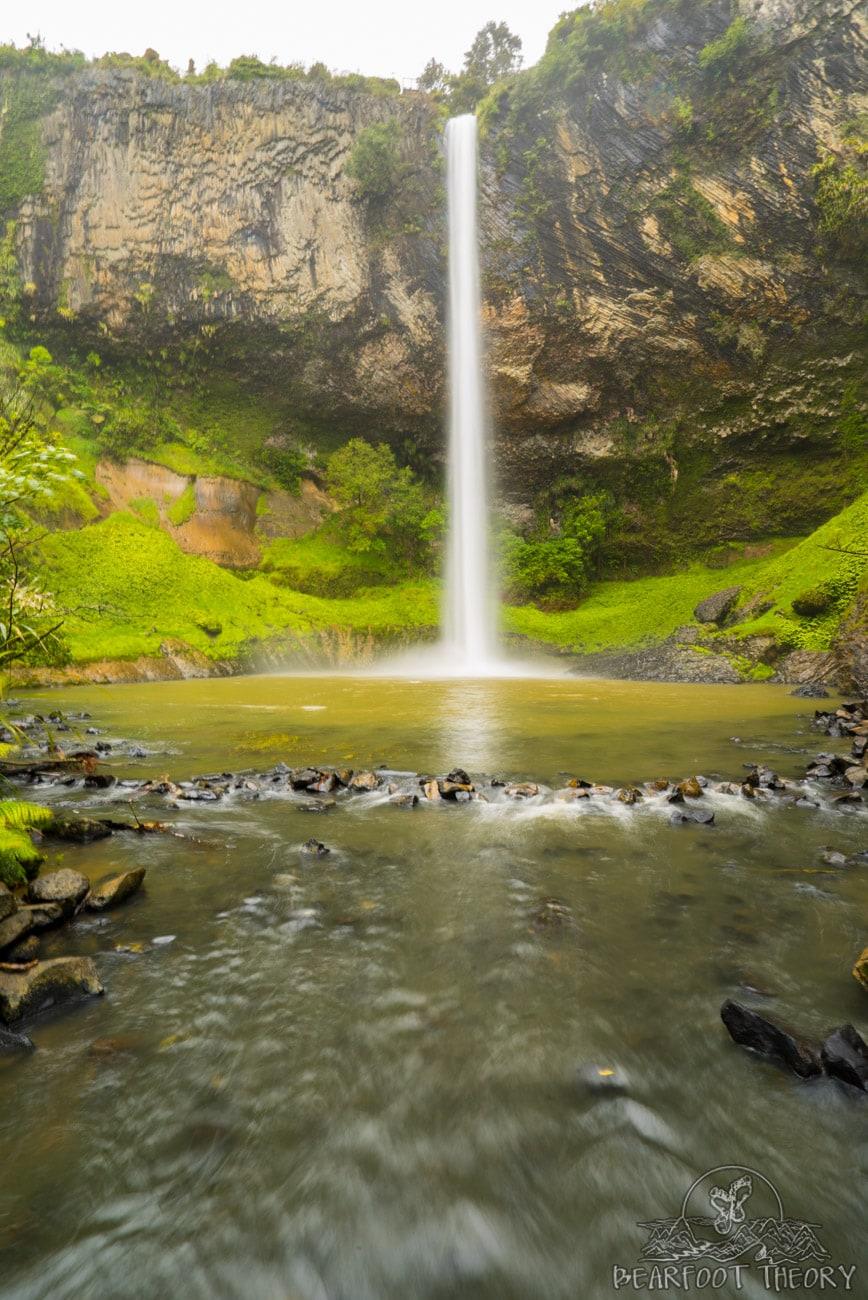 New Zealand Road Trip Itinerary: Bridal Falls