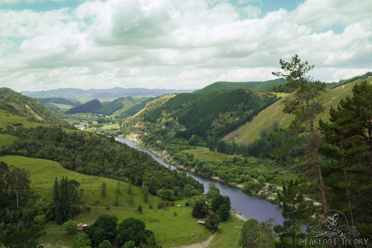 New Zealand Road Trip Itinerary: Whanganui River Lookout