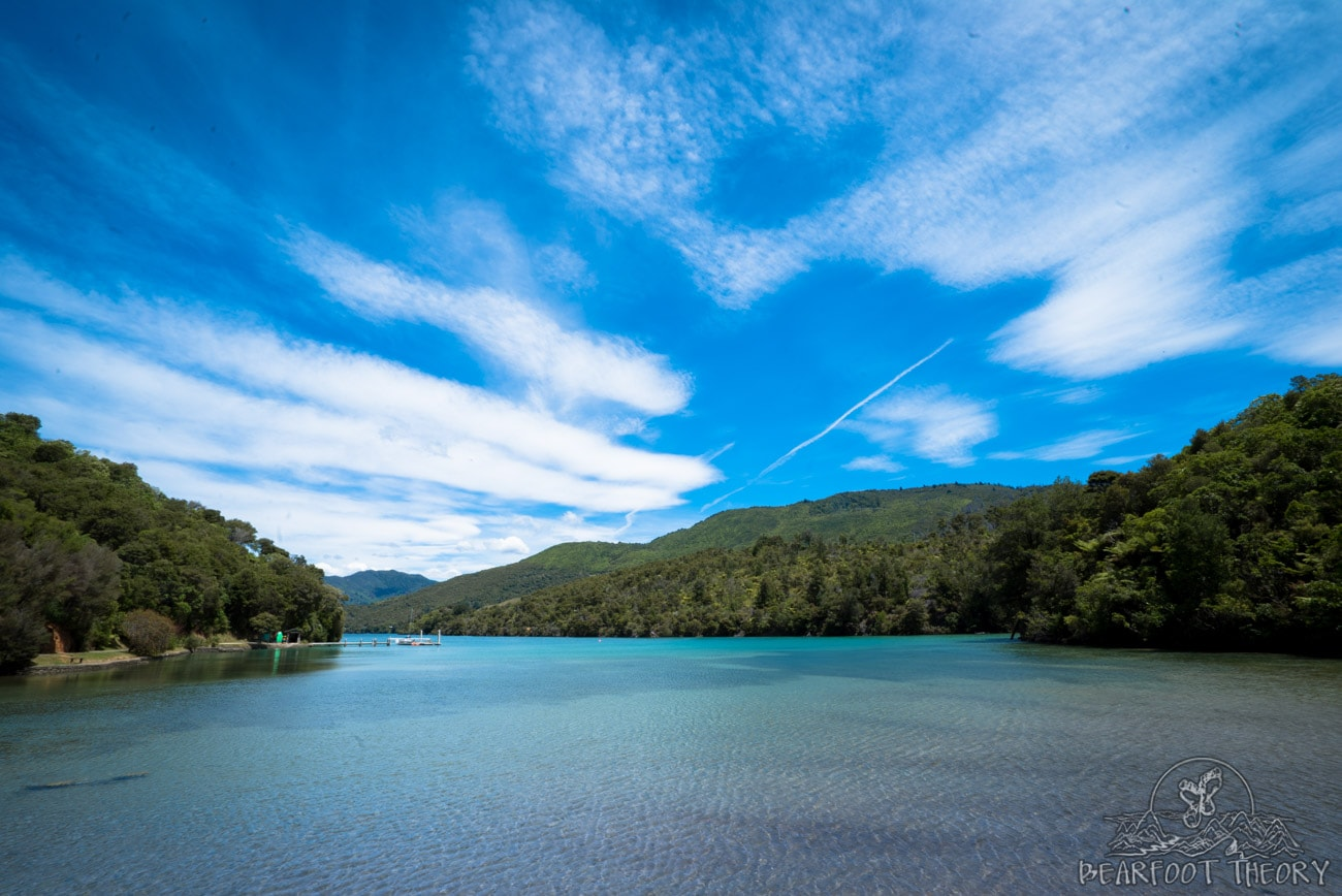 New Zealand Road Trip Itinerary: Queen Charlotte Sound at Mistletoe Bay