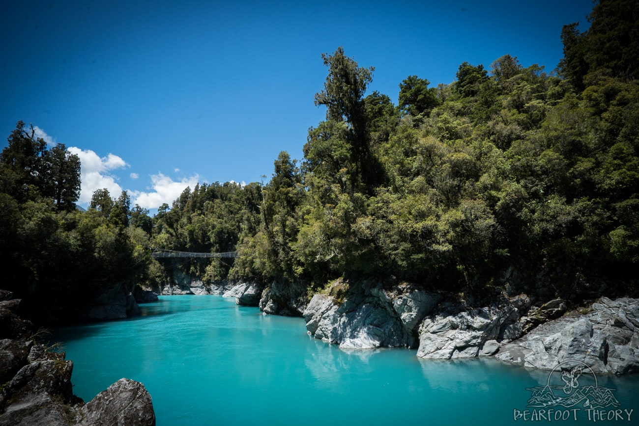New Zealand Trip: Week 3 Highlights and Itinerary - Hokitika Gorge