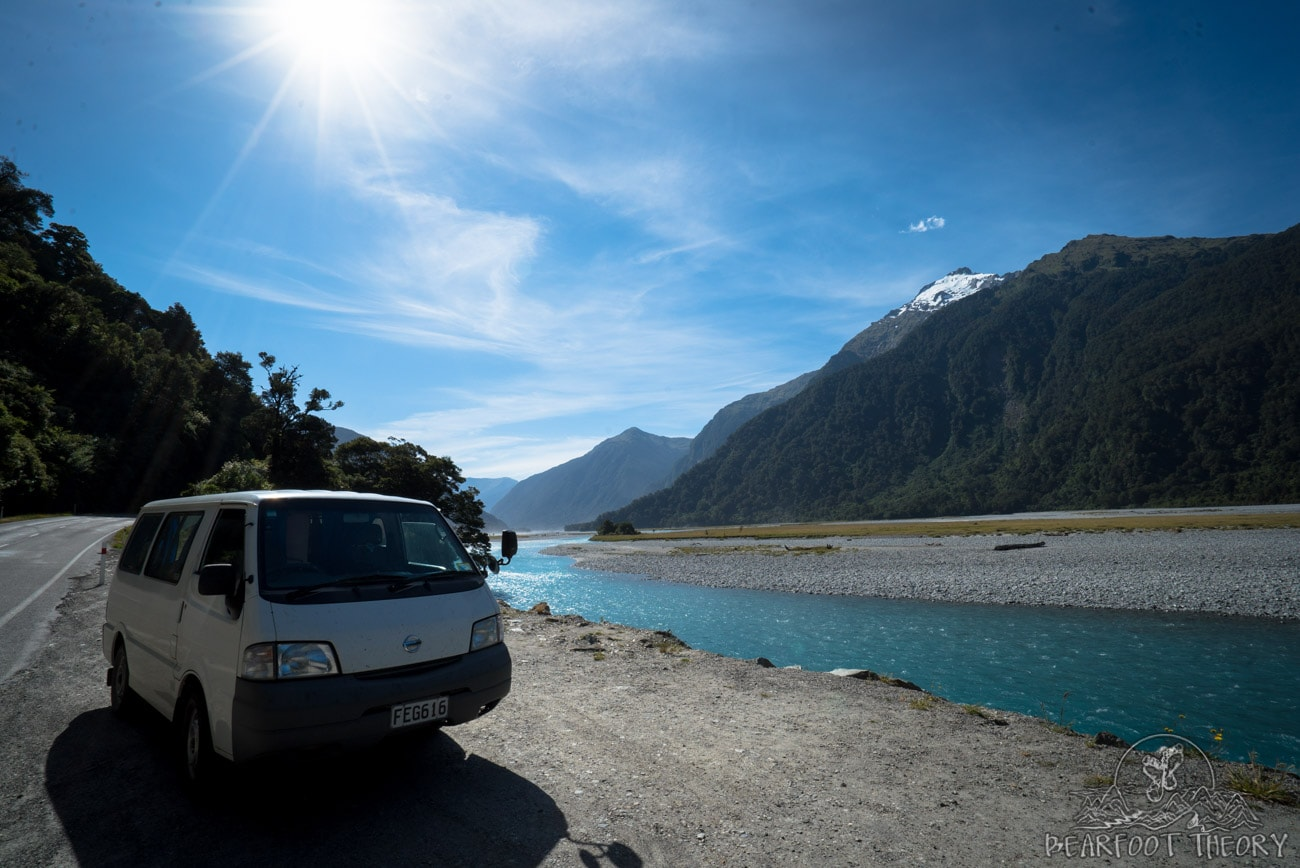New Zealand Trip: Week 3 Highlights and Itinerary - Driving over Haarst Pass