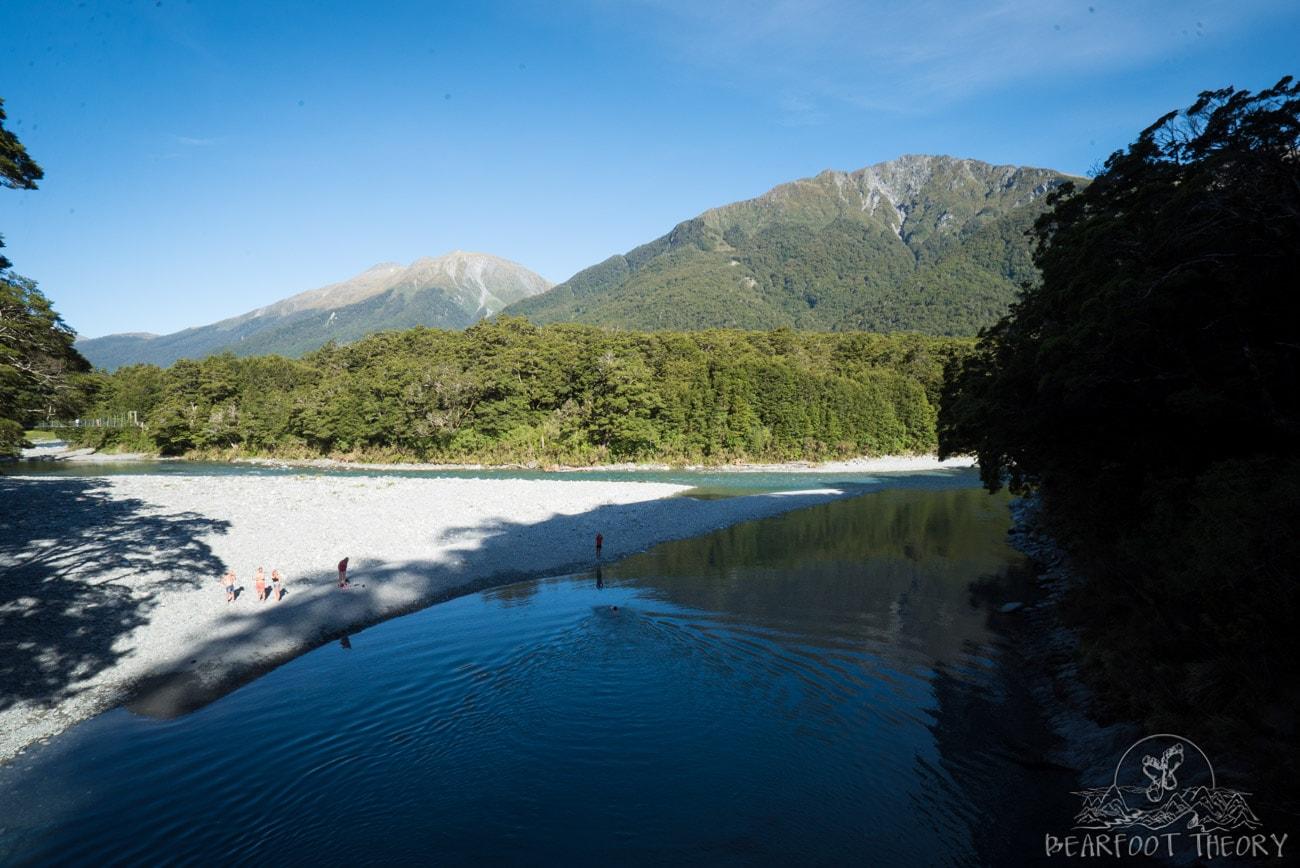 New Zealand Trip: Week 3 Highlights and Itinerary - Blue Pools near Wanaka