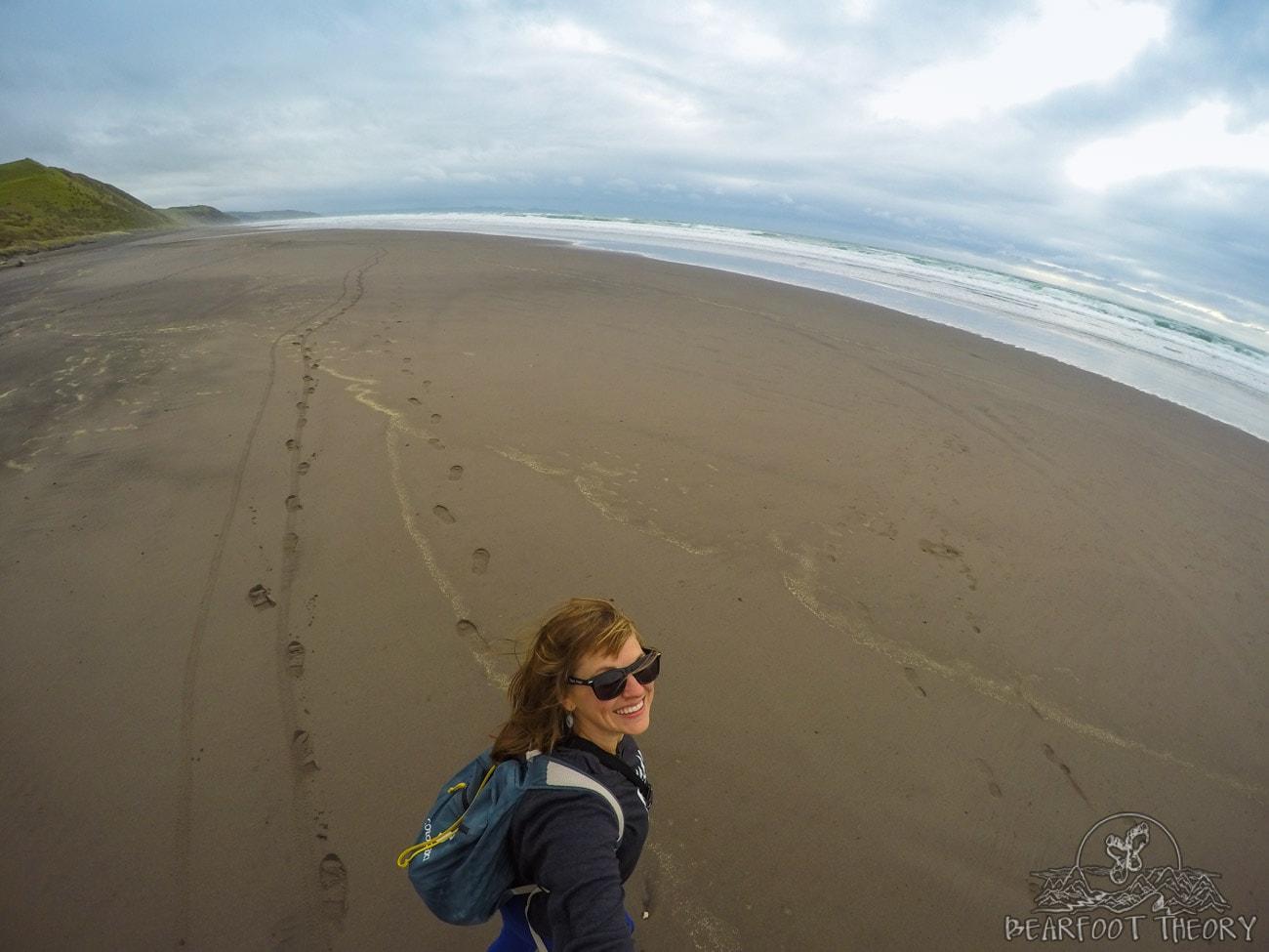 New Zealand Road Trip Itinerary: Ruapuke Beach