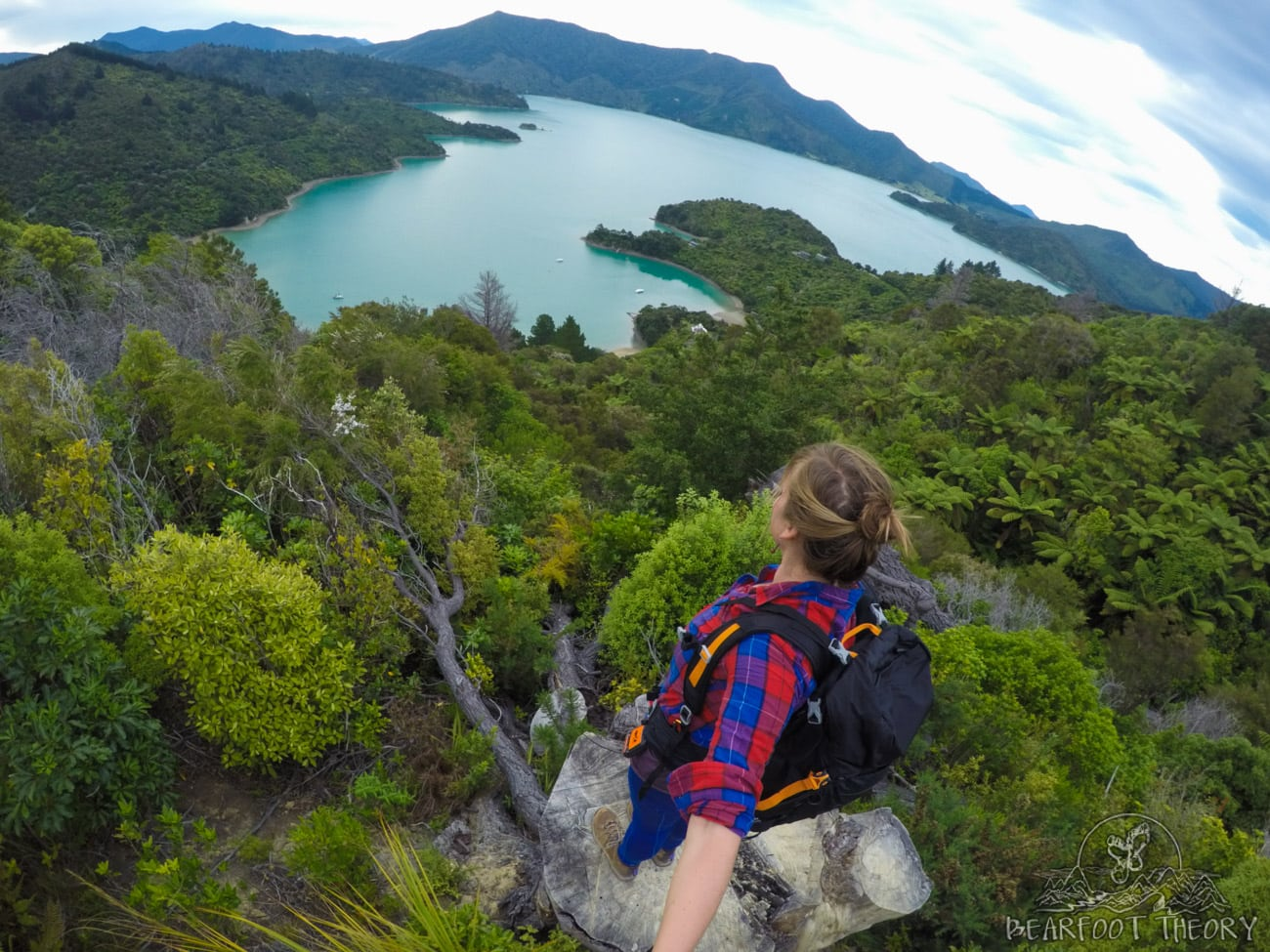 New Zealand Road Trip Itinerary: Onahua Point Lookout