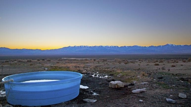 Kyle Hot Springs // Check the map, grab your (birthday) suit, and head to one of these best hot springs in Nevada for the ultimate natural soak.