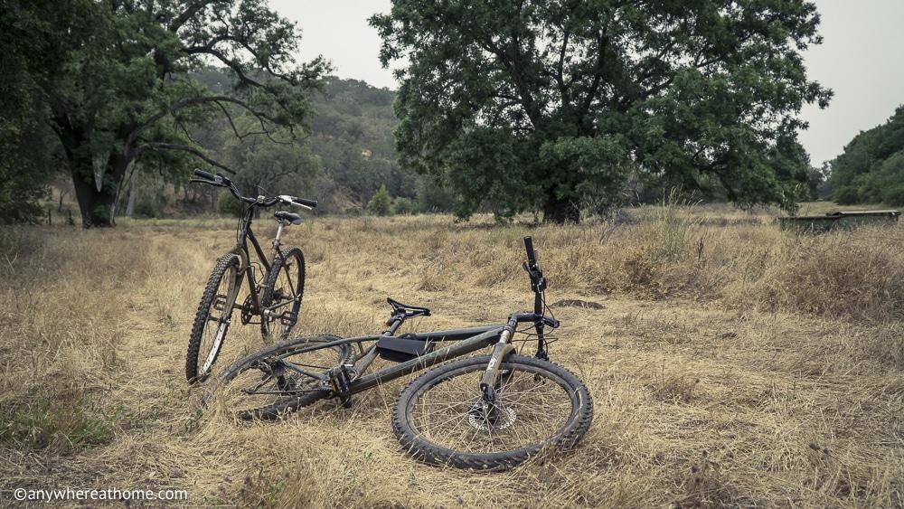 Biking in Henry Coe State Park