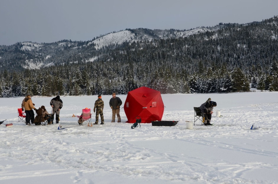 Things to do in Idaho during the Winter: Go Ice Fishing