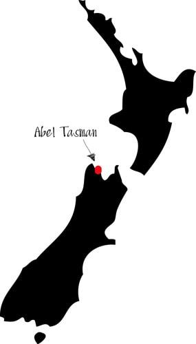 Abel Tasman National Park location
