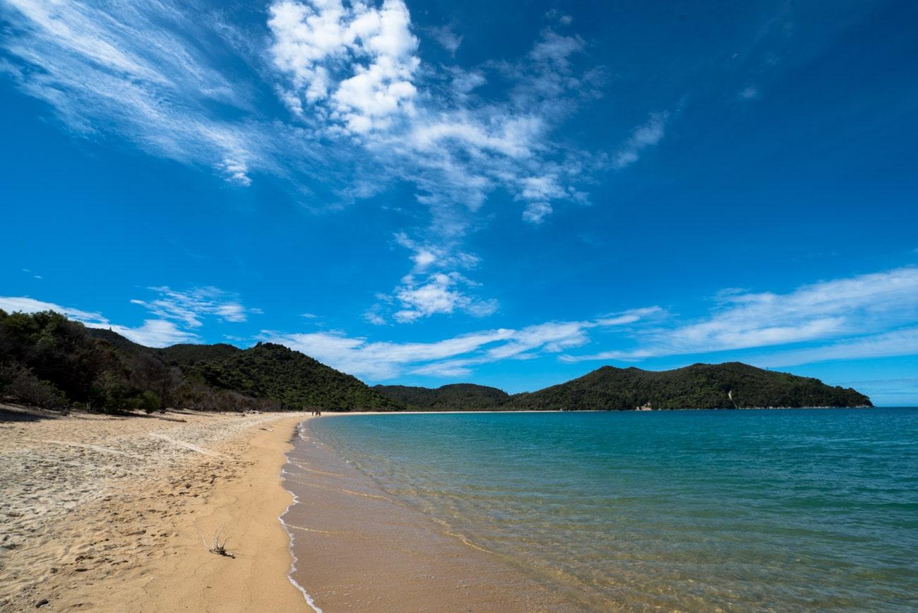 Onetahuti Beach in Abel Tasman National Park