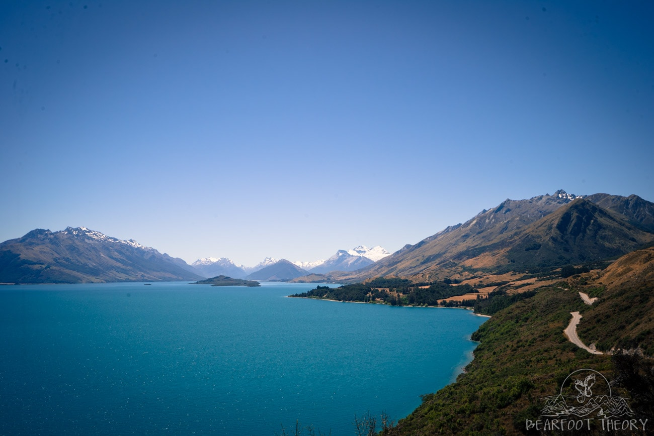 New Zealand Road Trip: the road from Queenstown to Glenorchy