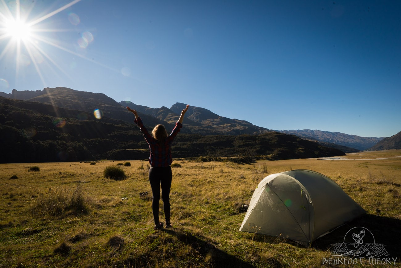 New Zealand Road Trip: Solo backpacking to the Rees Valley in Mount Aspiring National Park